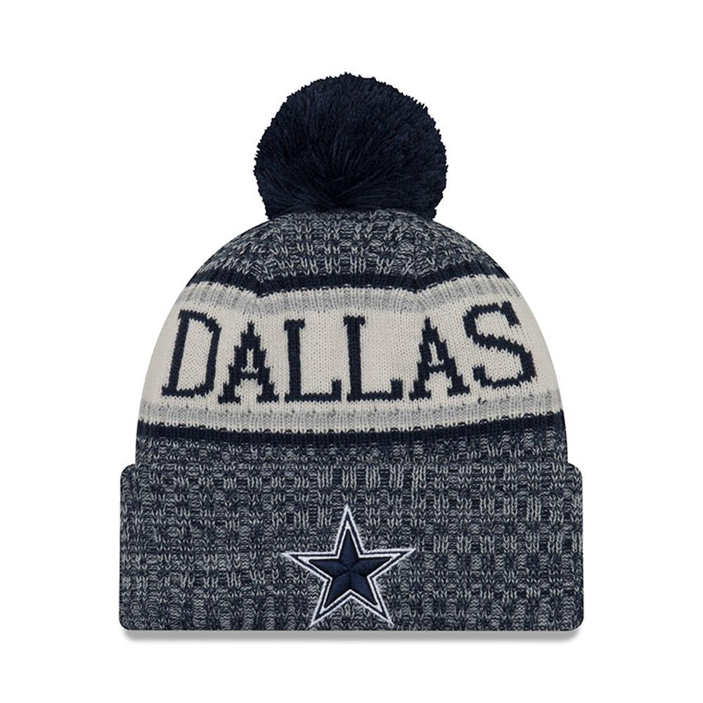 Dallas Cowboys 2018 Sideline Bobble Cuff Knit  de70d70b66de