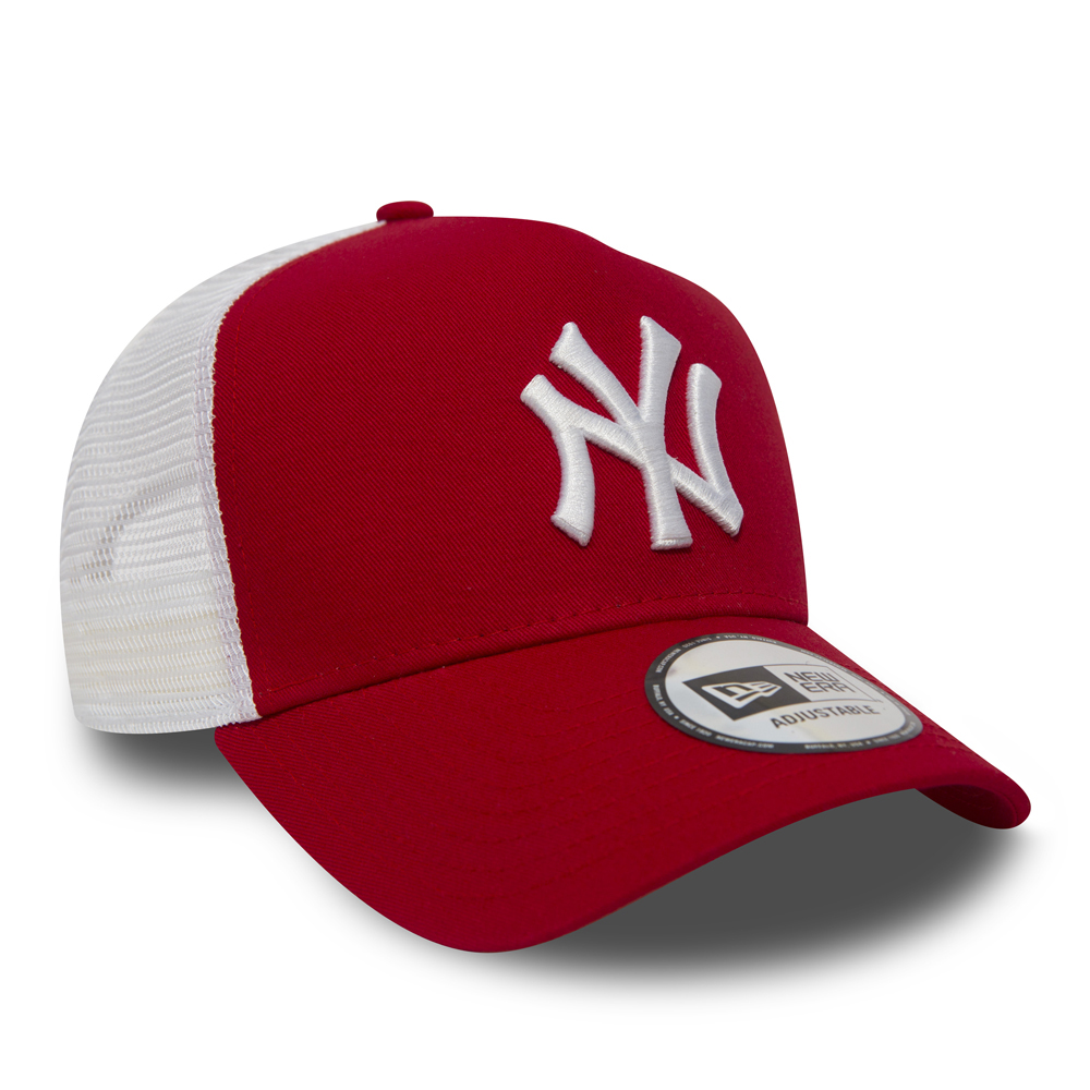 ... NY Yankees Clean A Frame Red Trucker 3ce20ad15a