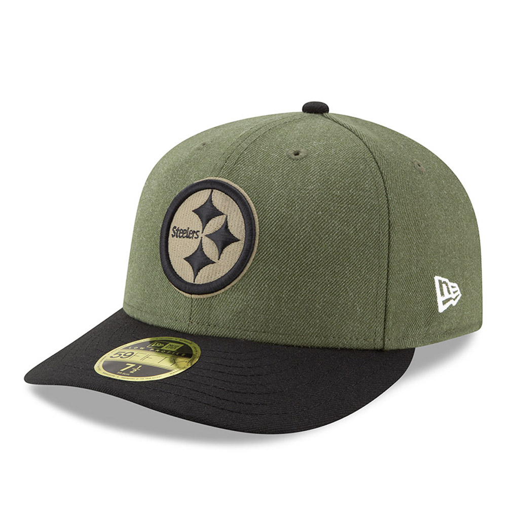 ... Pittsburgh Steelers Salute to Service Low Profile 59FIFTY 7116b155a