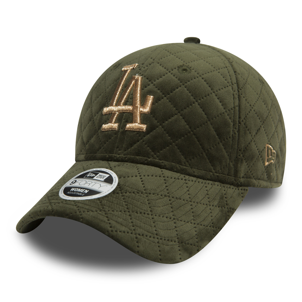 Los Angeles Dodgers Womens Winter Pack Olive 9FORTY