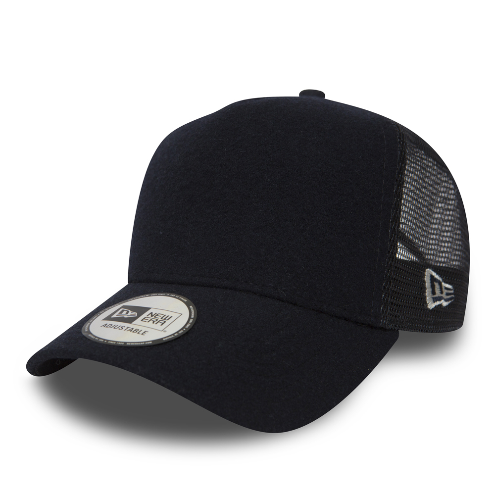 New Era Winter Utility Navy A Frame Trucker