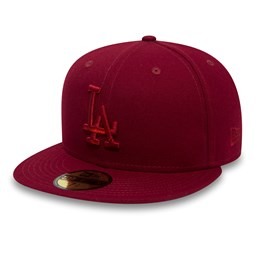 Los Angeles Dodgers Essential Cardinal Red 59FIFTY