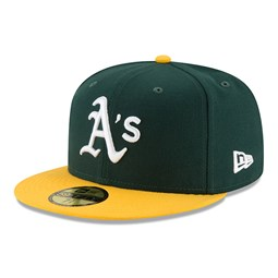 Oakland Athletics On Field Home Green 59FIFTY Cap