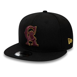 super popular bb8da 8f192 California Angels Black 9FIFTY Snapback