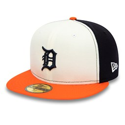 Detroit Tigers White 59FIFTY Cap