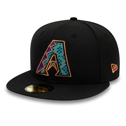 Arizona Diamondbacks Black 59FIFTY Cap