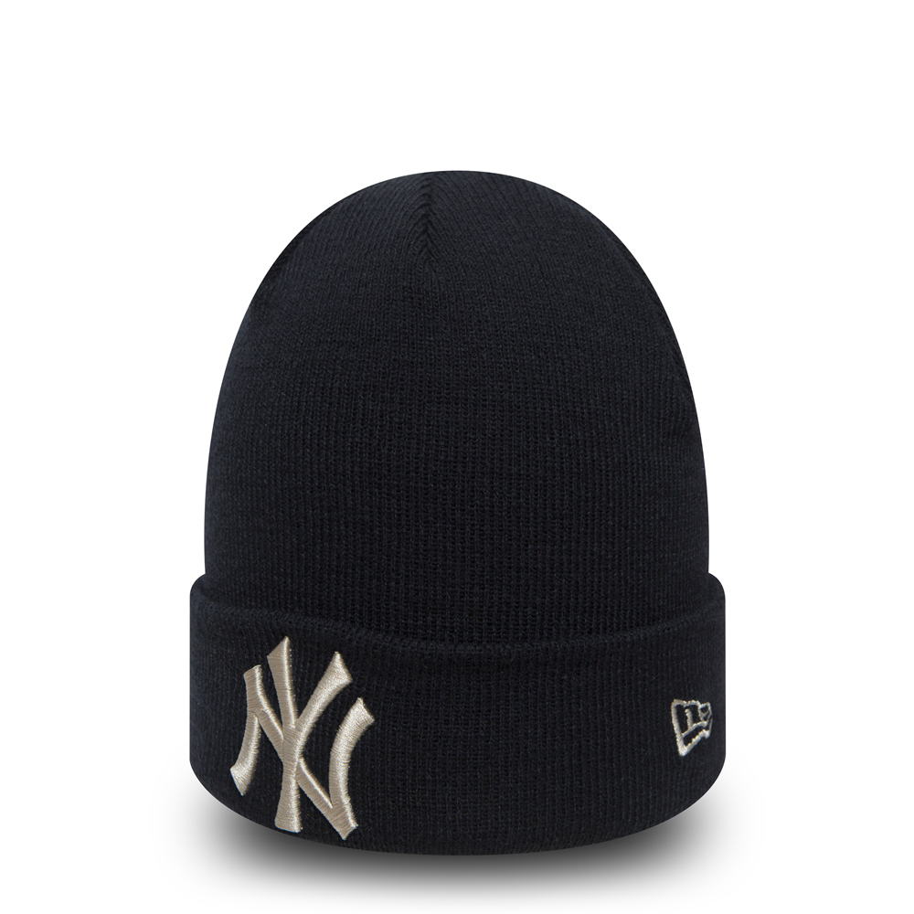 8a20a9298cc New York Yankees Essential Navy Cuff Knit
