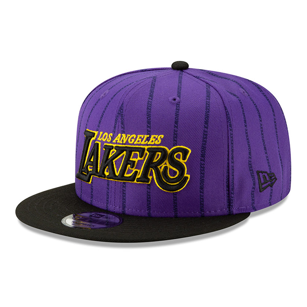 Los Angeles Lakers NBA Authentics - City Series 9FIFTY Snapback ... e5e75135f427