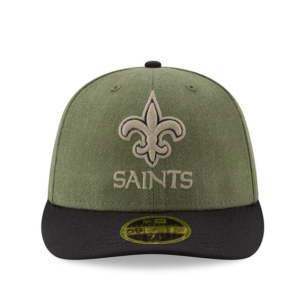 e811a0d1b ... New Orleans Saints Salute to Service Low Profile 59FIFTY
