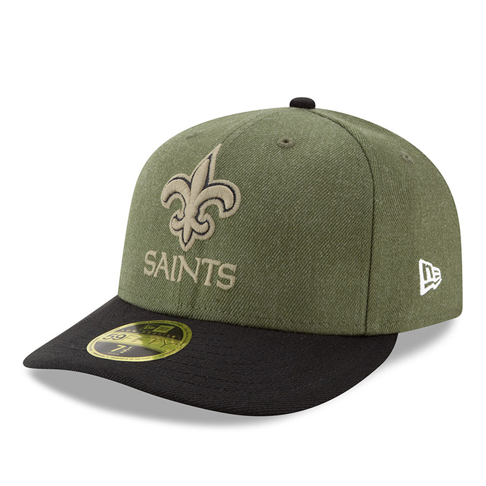 ... New Orleans Saints Salute to Service Low Profile 59FIFTY 3da59b3e1