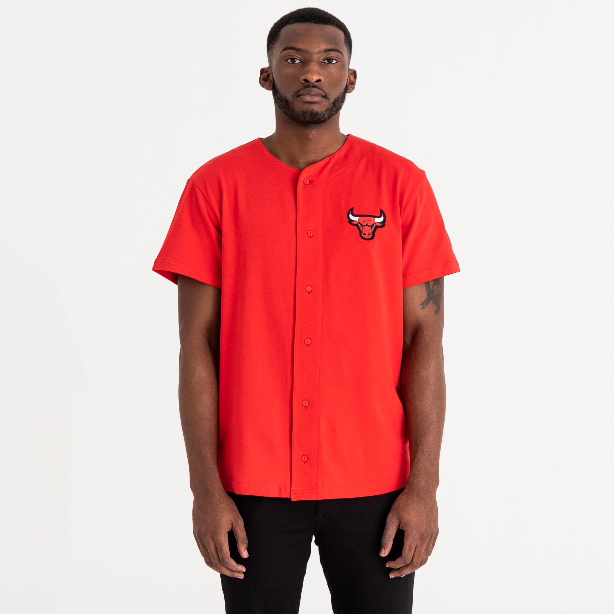 Chicago Bulls Team Logo Button Up Tee 23ca45ce8f5
