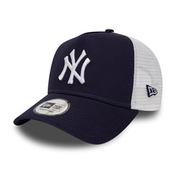 New York Yankees Womens Essential Navy A Frame Trucker