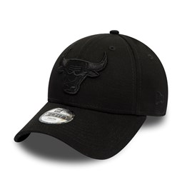 Chicago Bulls Kids Black on Black 9FORTY Snapback