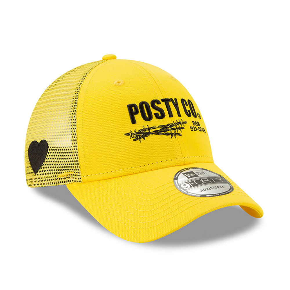 Post Malone Yellow Mesh 9FORTY Post Malone Yellow Mesh 9FORTY 4d739cfa62cf