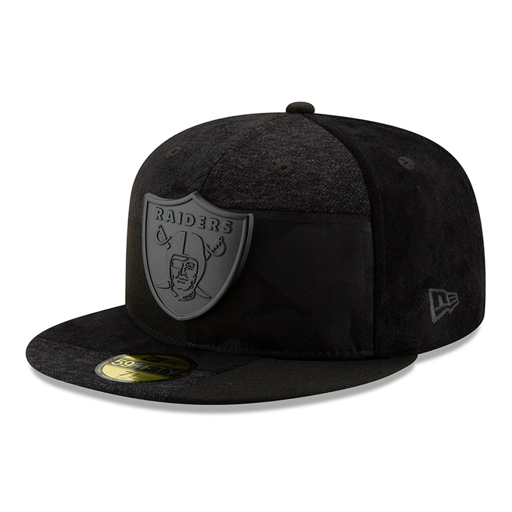 Oakland Raiders Premium Patched 59FIFTY