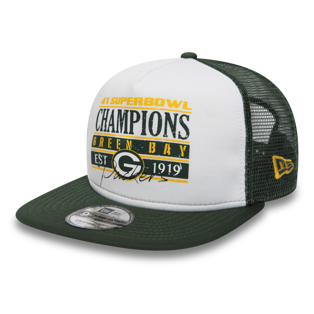 7ab0088b6 Green Bay Packers Champions 9FIFTY Trucker Green Bay Packers Champions  9FIFTY Trucker
