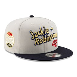Jackie Robinson 100 Years Side Patch Stone 9FIFTY Snapback
