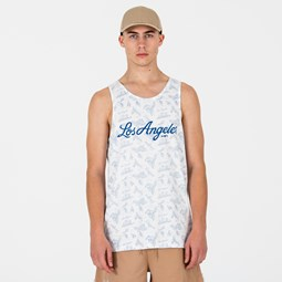 Los Angeles Dodgers allover Print Tank