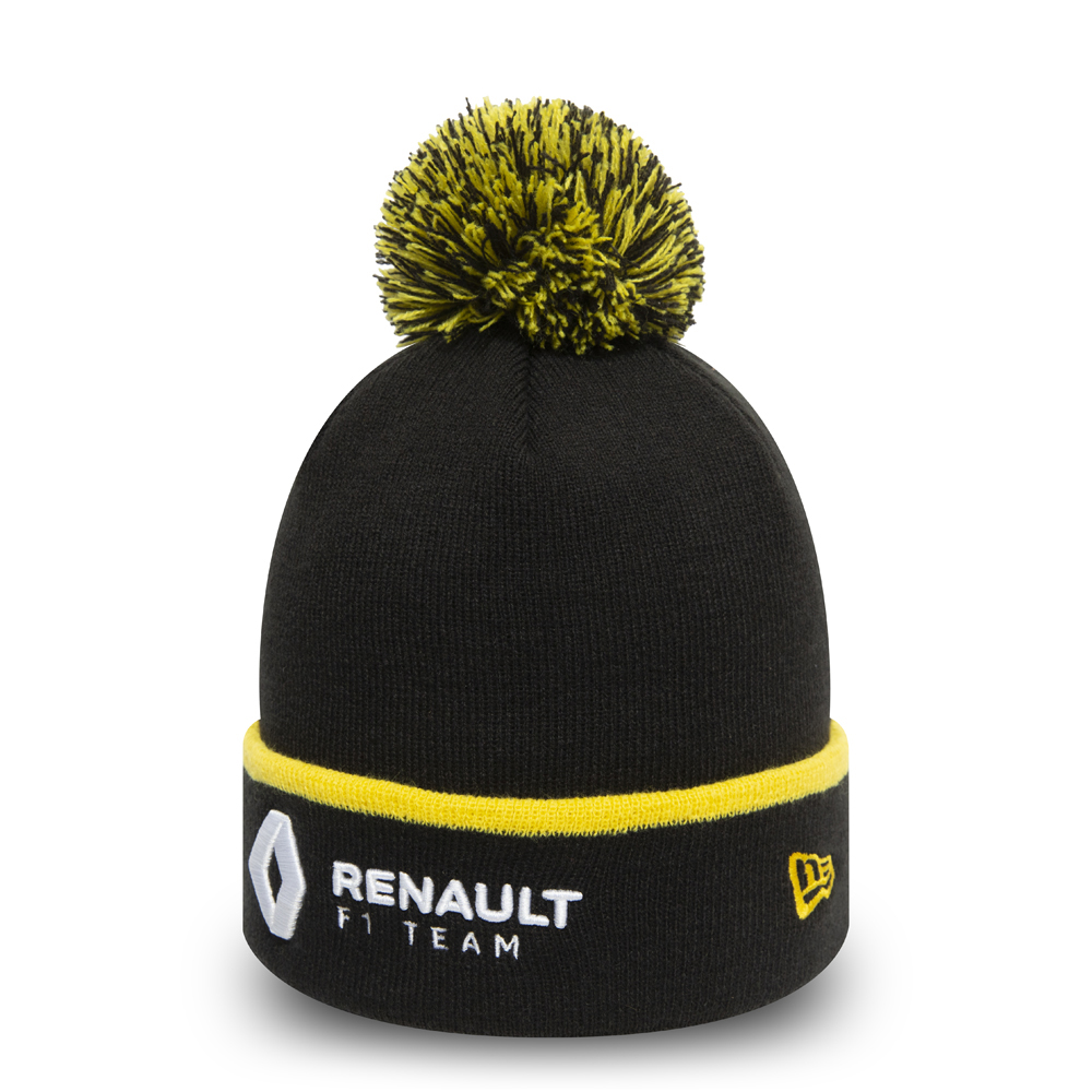 Renault F1 Essential Bobble Cuff Knit