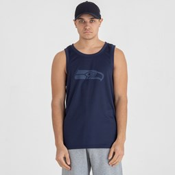 Seattle Seahawks Oceanside Blue Tank