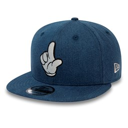 Street Mickey Mouse Denim Blue 9FIFTY Snapback