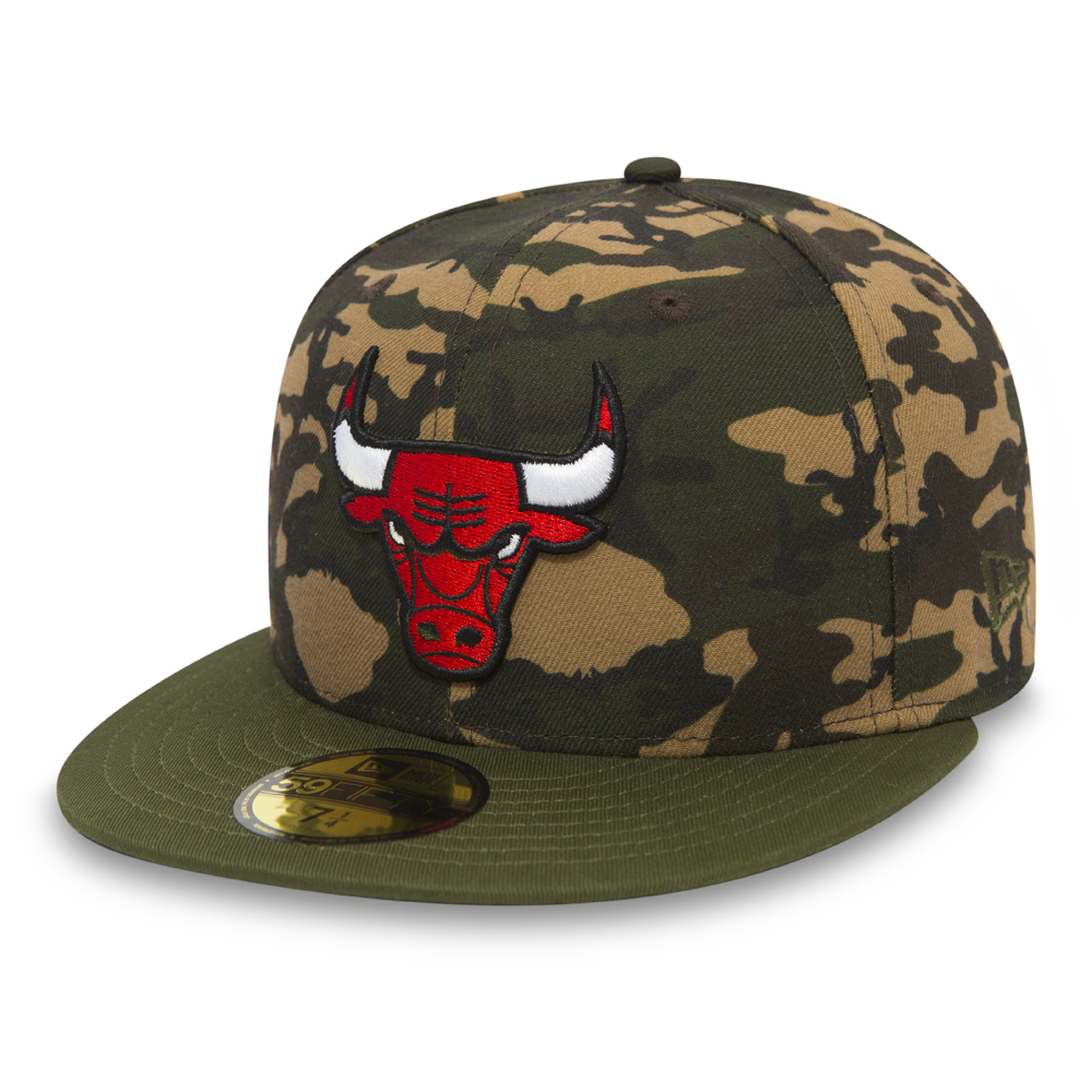 4f85a89067ba7 Chicago Bulls Camo Team 59FIFTY Chicago Bulls Camo Team 59FIFTY