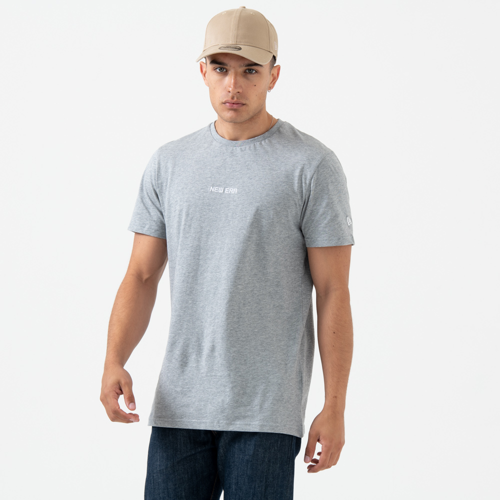 New Era Essential Heather Grey Tee