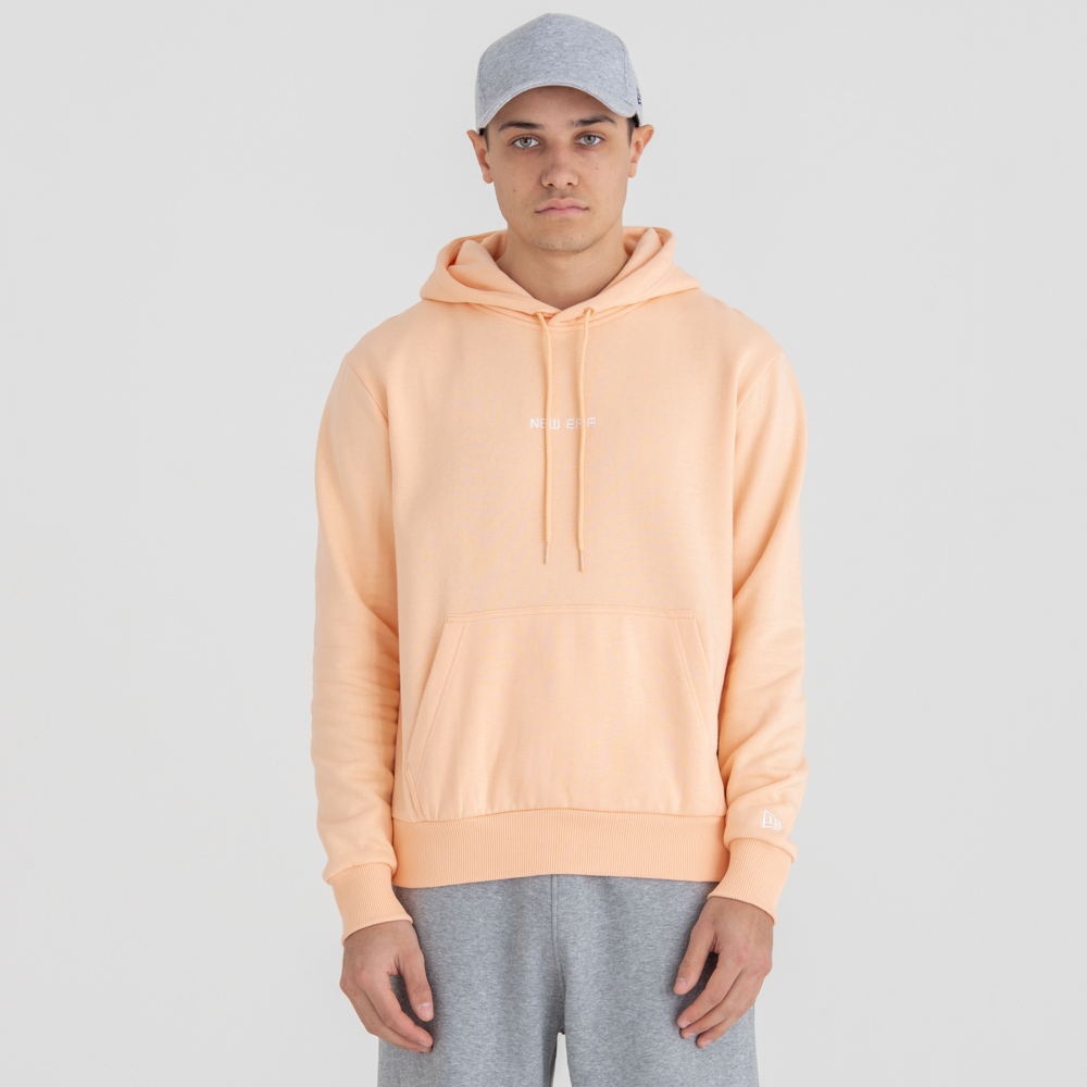 New Era Essential Peach Pull Over Hoodie