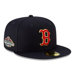 Boston Red Sox Gold Patch 59FIFTY