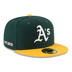 Oakland Athletics MLB 150th Anniversary On Field 59FIFTY