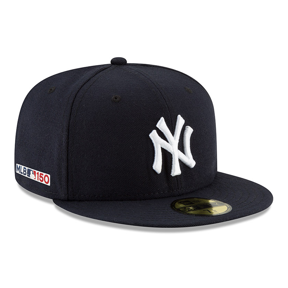 3710a733a4ea2 ... New York Yankees MLB 150th Anniversary On Field 59FIFTY