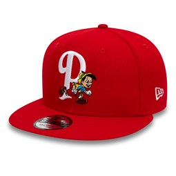 Pinocchio Disney Scarlet 9FIFTY