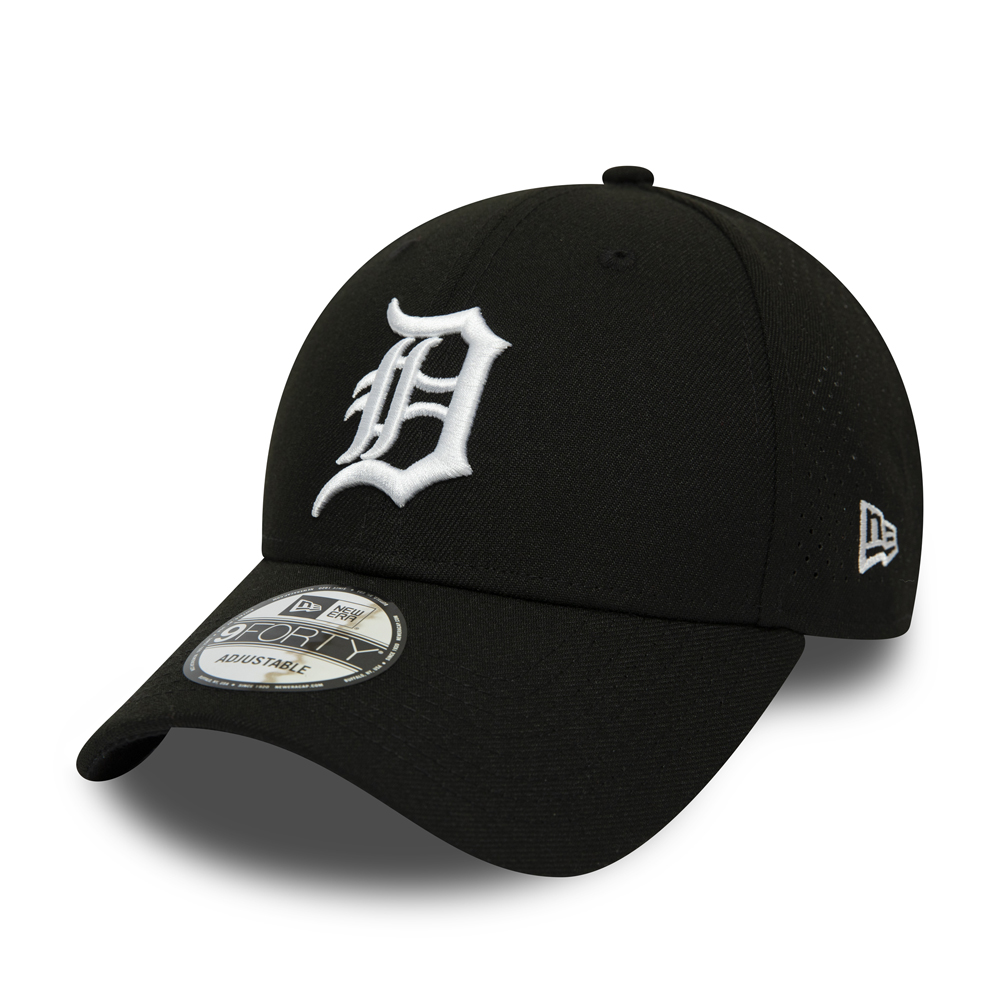Detroit Tigers Polyester Perforated Black 9FORTY