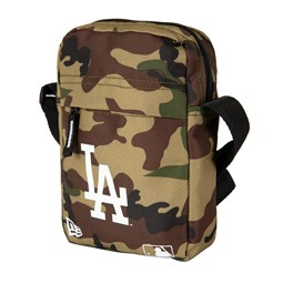 Los Angeles Dodgers Woodland Camo Side Bag