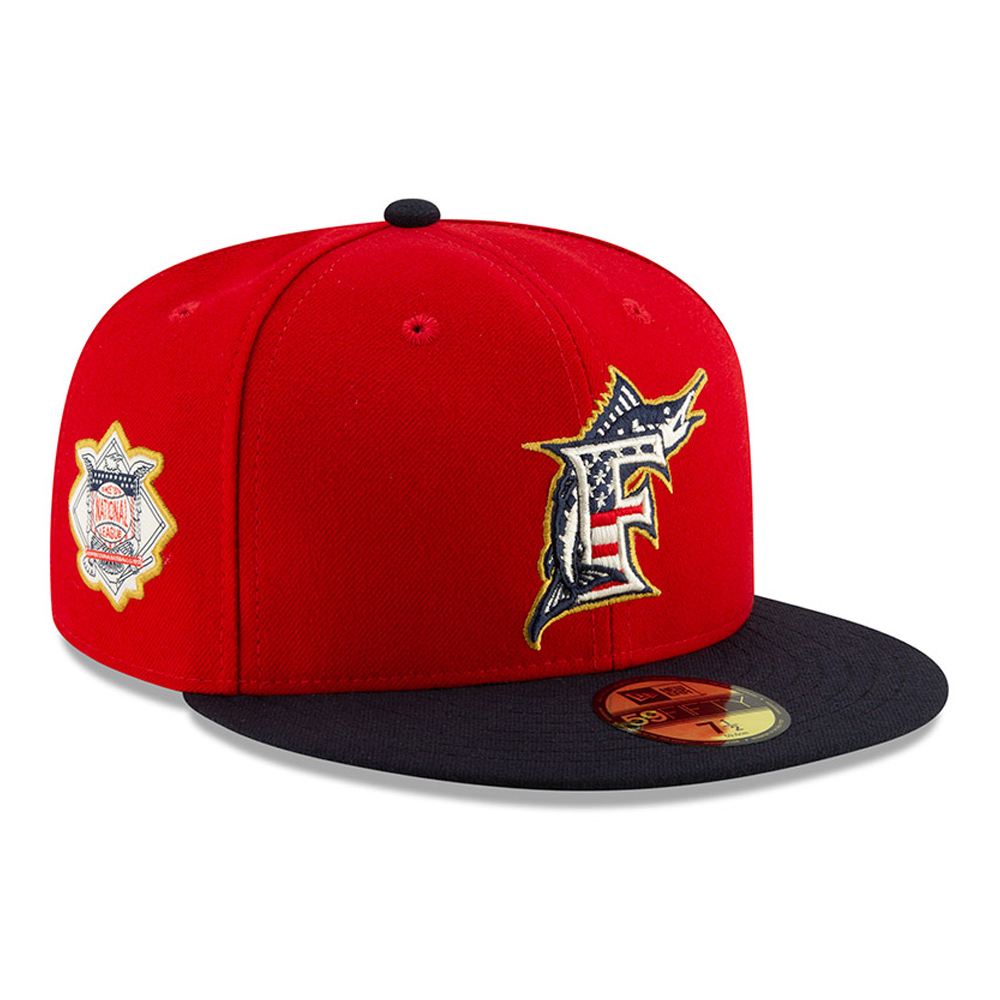 Miami Marlins Independence Day 59FIFTY