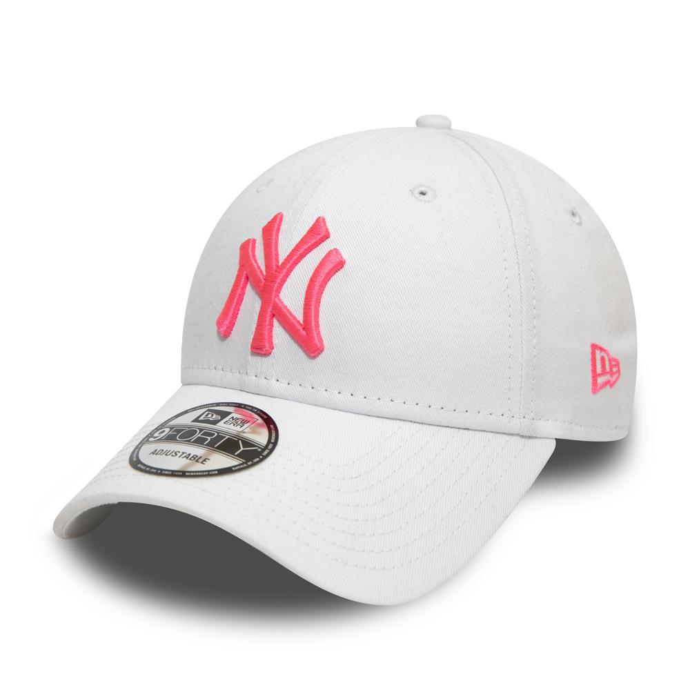 MLB New York Yankees pink New Era Adjustable Trucker Cap