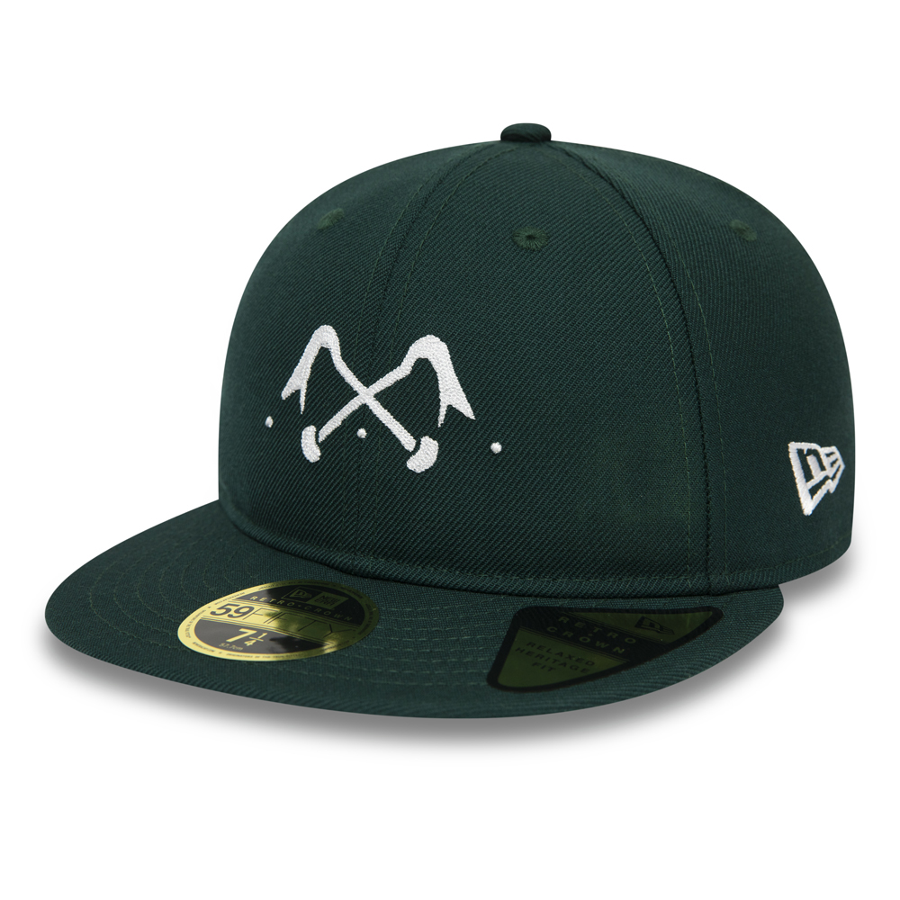 New Era x Bleu de Paname Green Retro Crown 59FIFTY
