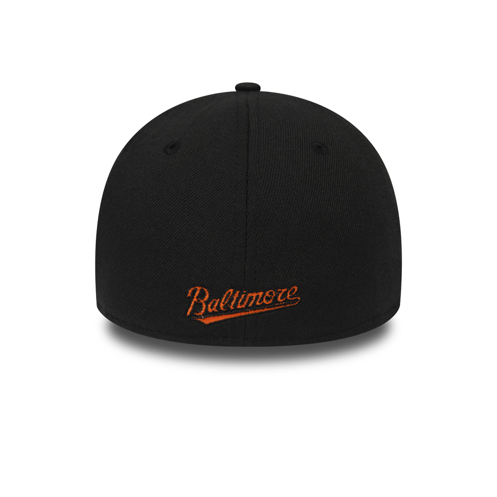 Baltimore Orioles Black and Grey 39THIRTY Cap