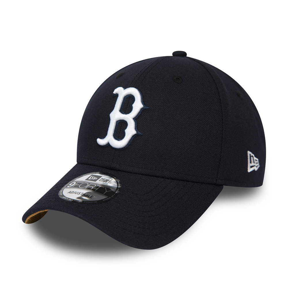 Boston Red Sox Navy 9FORTY Snapback Cap