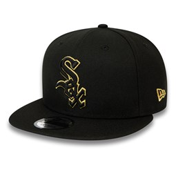 Chicago White Sox Black and Gold 9FIFTY Snapback Cap