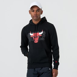 Chicago Bulls Logo Pullover Hoodie