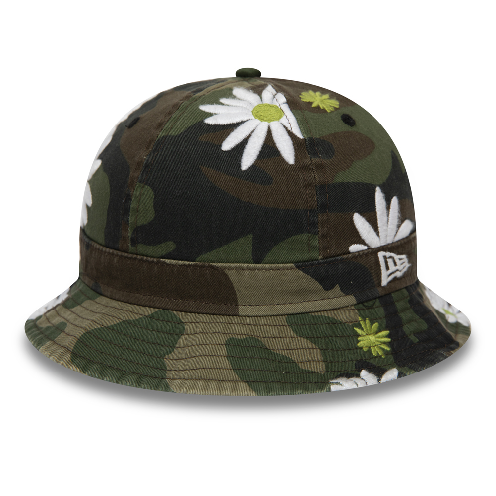 New Era Flower Camo Explorer Bucket