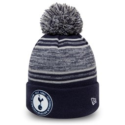 Tottenham Hotspur FC Navy Strip Bobble Knit