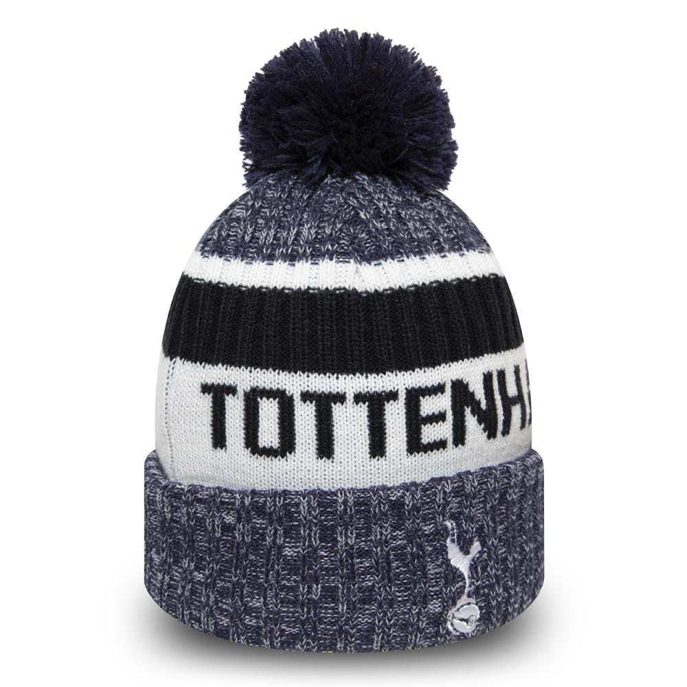 Tottenham Navy Knitted Gloves