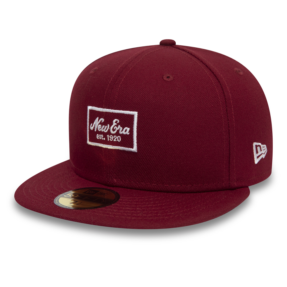 New Era Patch Red 59FIFTY SNAPBACK