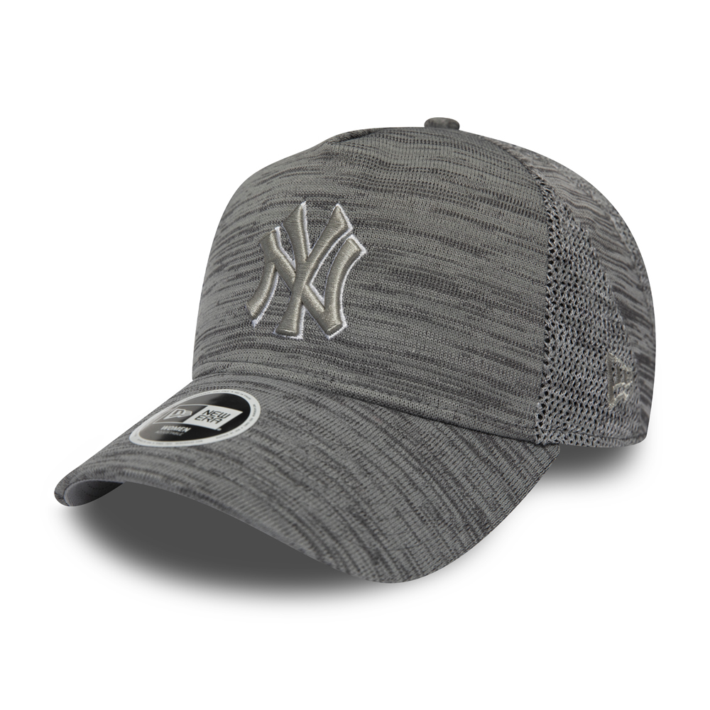 New York Yankees Engineered Fit Womens Grey A Frame Trucker