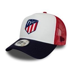 Atletico Madrid White A Frame Trucker