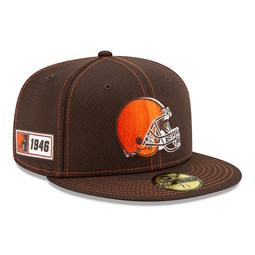 Cleveland Browns Sideline Road 59FIFTY