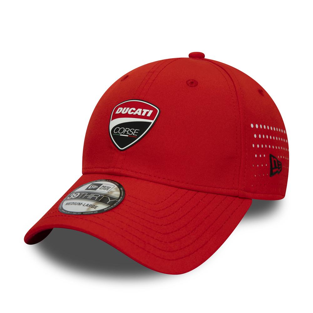 Rot New Era Ducati Corse FA19 39Thirty Stretch Cap