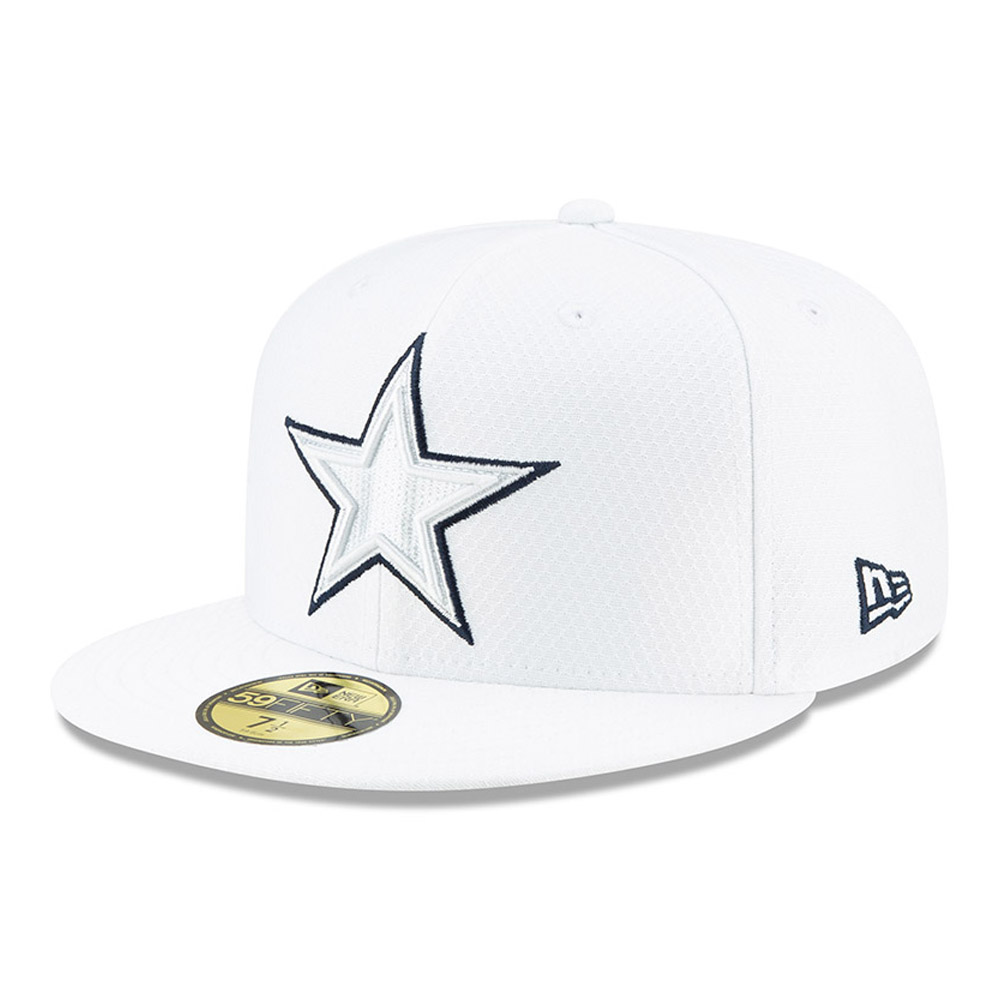 Dallas Cowboys On Field Platinum 59FIFTY